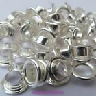 50 or 200 x Silver Plated Plain Faced Dual Core Inserts For European Glass Beads