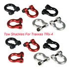 4PCS Alloy Metal Hooks Hitch Tow Shackles For Traxxas TRx-4 1/10 RC Crawler