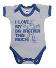 Funny BABY GROW for Boys Girls Baby Shower Gift BodySuit Christmas Newborn Vest