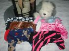 XXXSmall Tiny Dog clothes, Fleece snowsuit-Pj's WARM & SOFT Machine Washable