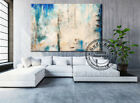 GUDI-Large Modern Hand Drawing Abstract Oil Painting Home Decor Canvas Art Wall