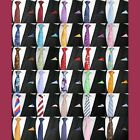 MEN'S WEDDING NEW NECKTIE TIE AND MATCHING POCKET SQUARE HANKY HANDKERCHIEF SET
