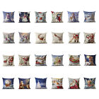 bloomingdales hours thanksgiving - Christmas Style Cotton Linen Sofa Waist Cushion Pillow Case Cover Thanksgiving