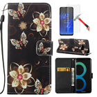 For ZTE Z981/Z982/N9560 Fashion Leather Wallet Case Lanyard Kickstand Flip Cover