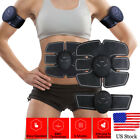 Healthy Abdominal Body Muscle Trainer Gear Abs Fit Toning Belt Exercise Workout image
