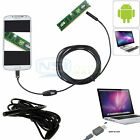 5M/2M Android Endoscope USB Waterproof Borescope Inspection camera 7mm 6 LED