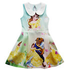 Gorgeous Girls  Beauty and The Beast Sleeveless Party Holiday Birthday Dress K82