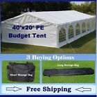 Budget PE Party Canopy - 3 Options - 40' series Tent, Short Bag, and Long Bag
