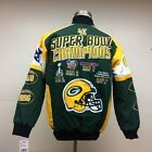 Green Bay Packers 4-Time Superbowl Champions Jacket on eBay