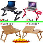 Portable Foldable Adjustable Laptop Desk Computer Table Stand Tray For Sofa NEW
