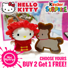 Kinder Surprise Hello Kitty *Choose Yours* 2017 Cake Toppers Toys 3D Figures