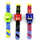 Childrens Watch Cartoon Catboy Mask Character Action Figure for Christmas Gift