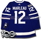 PATRICK MARLEAU TORONTO MAPLE LEAFS ADIDAS HOME JERSEY AUTHENTIC PRO 100TH PATCH