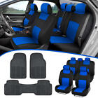 Car SUV Seat Covers for Auto  All Weather Rubber Floor Mats   Full Interior Set
