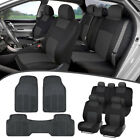 toyota rav4 2004 - Car SUV Seat Covers for Auto & All Weather Rubber Floor Mats - Full Interior Set