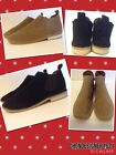 Steven by Steven Madden Size 9,9.5,10 Dylyn Black, Beige Suede Flat ankle boot