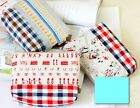 Canvas Colorful Pattern Cosmetic bag Pencil Pouch Makeup bag
