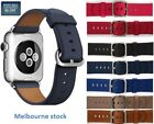 Single Tour Soft LeatherBand Strap Bracelet Watchband for AppleWatch Series1/2/3