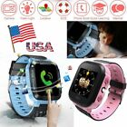 Anti-lost Safety Phone LBS Tracker Smart Watch For Android IOS Boys Girls Gift