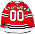 CHICAGO BLACKHAWKS ANY NAME  NUMBER ADIDAS ADIZERO HOME JERSEY AUTHENTIC PRO