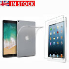 """Apple Table iPad Pro 10.5"""" TPU Back Cover Tempered Glass Film Screen Protector"""