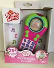 New Bright Starts Click And Giggle Remote Pretty in Pink or Green 3m+ Baby Toy