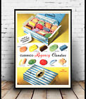 Clarnico Regency candies , Vintage Advertising poster reproduction.