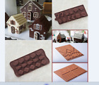 Silicone Christmas Tree Santa Chocolate Cake Bakeware Mould Candy Decorating Hot