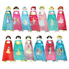 Внешний вид - Princess Costume Toddler Capes for Kids Halloween Princess Games Party Cosplay