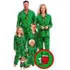 Family Pajamas Adult Women Kid Baby Sleepwear Nightwear for Christmas Set Outfit