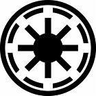 Galactic-Republic Vinyl Decal Sticker Car Window Star Wars Symbol USA Seller $2.99 USD on eBay