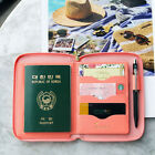 Travel Brief Pocket - PLEPIC - Travel Organizer Ziparound Wallet Passport Holder