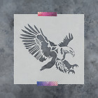 Внешний вид - Eagle Stencil - Reusable Stencils of an Eagle Available in Small & Large Sizes