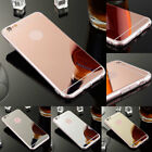 Soft Gel Mirror Case For iPhone 8 / Plus Transparent Silicone Protector