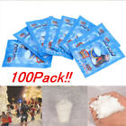 1~100 Packs Instant Snow Fluffy Super Absorbant Magic Prop Christmas  Decor