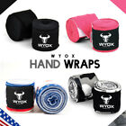 Wyox Hand Wraps Mexican Bandages Boxing Fist Inner Gloves Muay Thai MMA Cotton