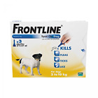 FRONTLINE SPOT ON DOG for Small Dogs 2-10kg -1 or 3 or 6 pipettes - BEST PRICE.