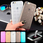 NEW Tpu Rubber Thin Silicone Gel Shock Case Cover For Apple iPhone 6 6S 5 5S