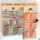 6/8 Pockets Closet Door Home Wall Hanging Organizer Storage Stuff Bag Pouch LJ