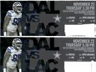 Sports Tickets - DALLAS COWBOYS VS LOS ANGELES CHARGER NOVEMBER 23rd 2 TICKETS SECTION 409 ROW 14