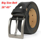 New Top quality Brand Mens Belts 100% cowhide Leather belt big Size 105-160cm