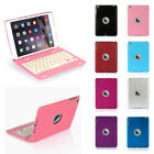 Foldable Bluetooth Keyboard Folio Stand Dock Case Cover For Apple Ipad Mini 1
