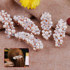 Women Jewelry Rhinestone Pearl Flower Butterfly Leaf Hair Barrette Clip Hairpin
