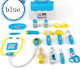 15Pcs Childrens Kids Role Play Doctor Nurses Toy Set Medical Kit In Blue or Pink