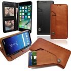 Leather Wallet Phone Case with Pull out card Holder, Money Slot &amp; Photo Frame <br/> With Built in Media Stand Phone Case