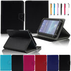 """7"""" Universal Folio Leather Stand Case Cover For Acer Iconia One 7"""" B1-A71/B1-710"""