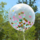 Colorful Foil Confetti Sequins Balloons Helium Wedding Birthday Party Decor