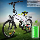 250W 36V Folding Electric Mountain Bicycle EBike 7 Speed Lithium Battery