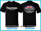 TRIUMPH MOTORCYCLE PARTS & ACCESSORIES MOTORCYCLE T-SHIRT SIZE S-3XL BLACK COLOR $30.43 CAD on eBay