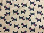 Double Sided Super Soft Cuddle Fleece Fabric Material - TERRIER BEIGE
